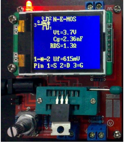 DIY наборы TFT LCD M328 тестер транзисторов LCR Диодная емкость ESR измеритель напряжения ШИМ квадратный генератор сигналов частоты волны|voltage meter|meter voltagegenerator voltage - AliExpress