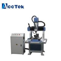 DSP remote control Mini cnc metal mould engraving machine 4040 6060 cnc machine for metal wood mold making