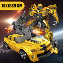New Transformation Robot Toy Anime Series Model Action Figure Toys Robot Car ABS Plastic Toy for Child kid gift xmas 4th party masterpiece movie series mpm 05 barricade transformation action figure police mode collection ko robot toys boys gift