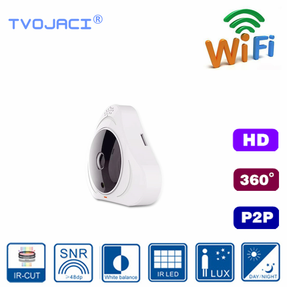 Surveillance WIFI IP Panorama HD Camera 3MP Waterproof Indoor Ceiling Network CCTV Camera Yoosee Wireless P2P Camera 360VR in Surveillance Cameras from Security Protection