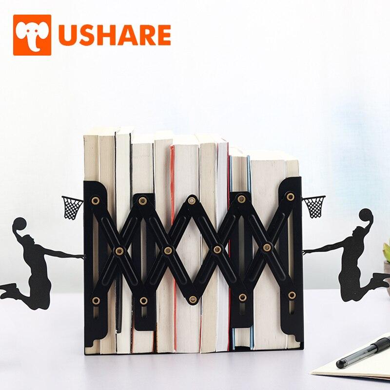 Ushare Decorative Bookends Metal Statue Of Liberty Bookshelf Books Holder For Books Support Desk Organizer Home School Supplies Attractive Fashion Bookends Office & School Supplies