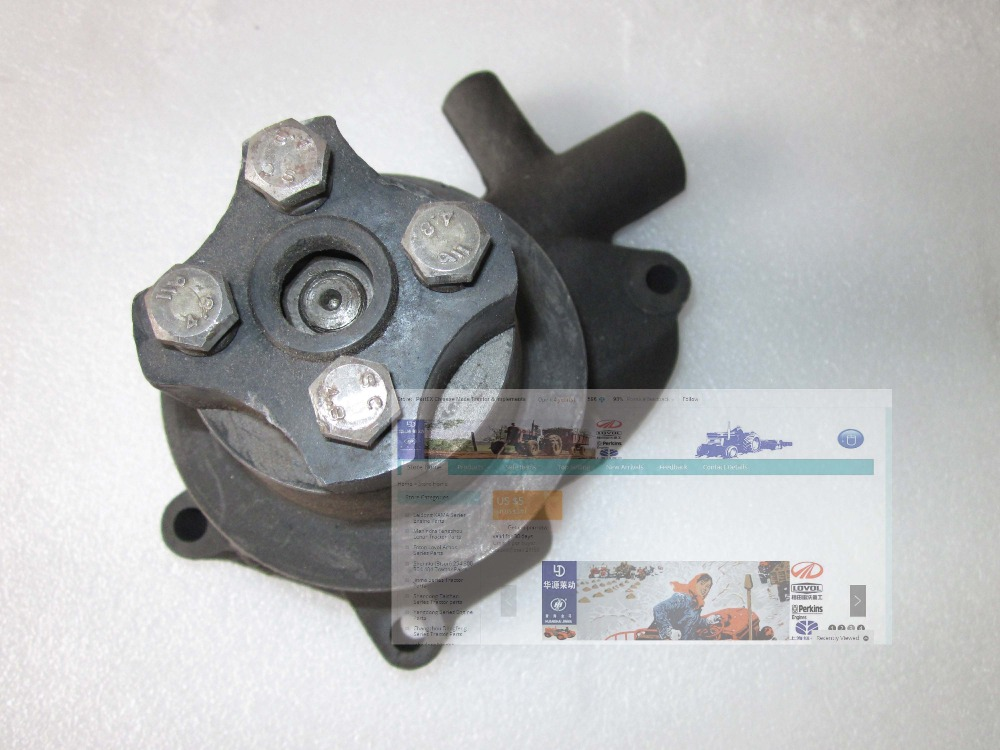 Water pump for tractor with engine model J285T J285T-3 for Fengshou FS180 FS184 jiangdong engine parts for tractor the set of fuel pump repair kit for engine jd495