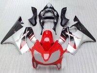 km For CBR600F4i 2001 2002 2003 red black Injection Molding CBR600 F4i 01 02 03 CBR 600 Motorcycle Bodywork Fairing Kit