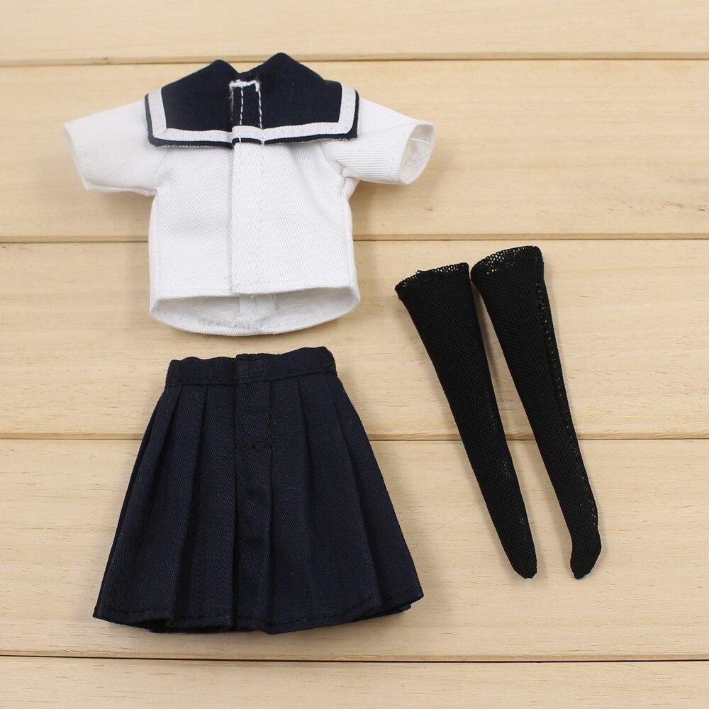 Neo Blythe Doll Sailor Uniform With Leggings 2