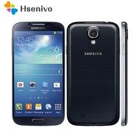 Original desbloqueado samsung galaxy s4 i9500 i9505 telefone celular celular celular 3g & 4g 5.0 2 ram 2 gb ram 16 gb rom s4 remodelado smartphone