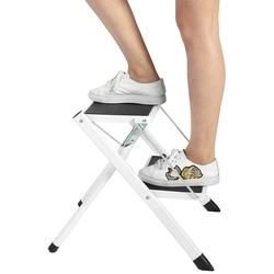 Anti-Slip Wenig Klapp leiter Riesen 2 Lauffläche Sicherheit Schritt Leiter Falten Schritt Stühle Mit Werkzeug Tablett