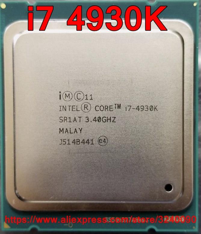 Processeur Intel Core i7 4930K i7 4930K processeur de bureau 6 cœurs 3.40GHZ 12 mo 32nm LGA2011 livraison gratuite-in Processeurs from Ordinateur et bureautique on AliExpress - 11.11_Double 11_Singles' Day 1