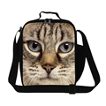 Best insulated lunch bags for girls animal cat insulated Cooler lunch bag for teenager,childrens thermal bolsa almuerzo trabajo