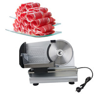 2016 New Electric Food Slicer Meat Commercial Steel Cheese Cut Restaurant Home 7 5 Blade