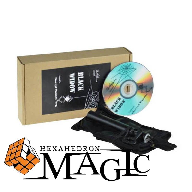 Darryl Vanamburg veuve noire pourrait ce faire tour de passe-passe de main obsolète gros plan rue scène carte tours de magie produits jouets