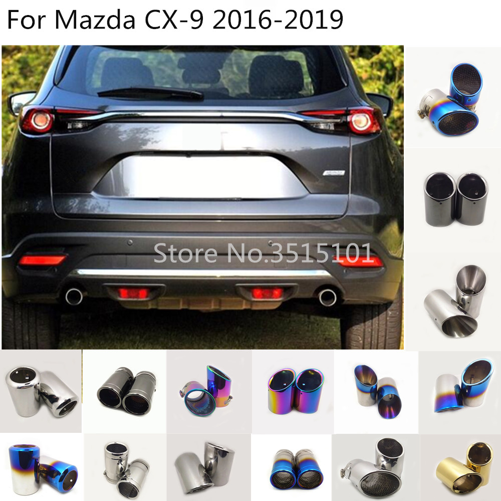 Inner Front and Rear Reading Light Cover Trim 2pcs For MAZDA CX-9 2016 2017 2018