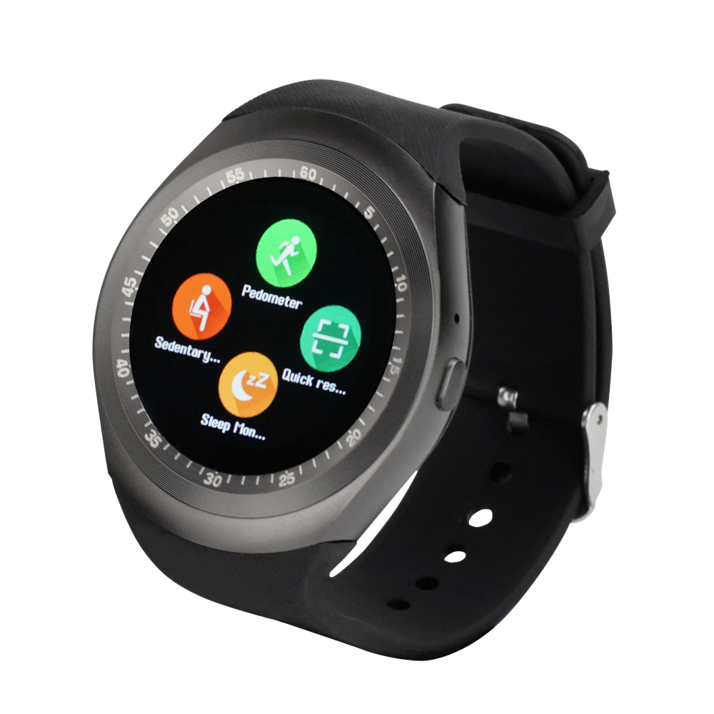Yuntab Y1 Smart Watch 1 54 Touch Screen Fitness Activity Tracker Sleep Monitor Pedometer Calories Track