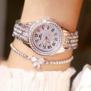 Ladies Watch Reloj Mujer 2019 Top Brand Luxury Diamond Watch Fashion Quartz Watch Female Wristwatch Women Watches Zegarek Damski
