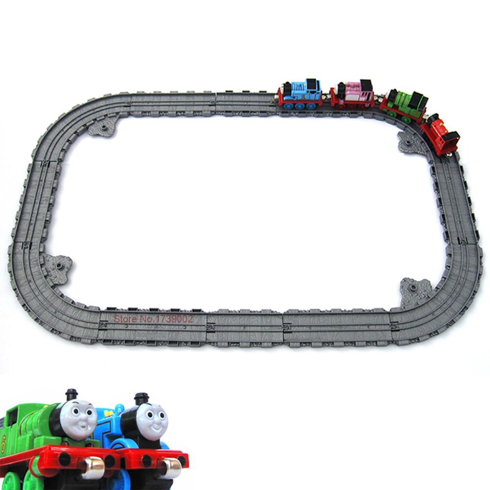 Plastic Railway Straight and Curved Expansion Track For Thomas Friends Take n Play Motorized Electric Train