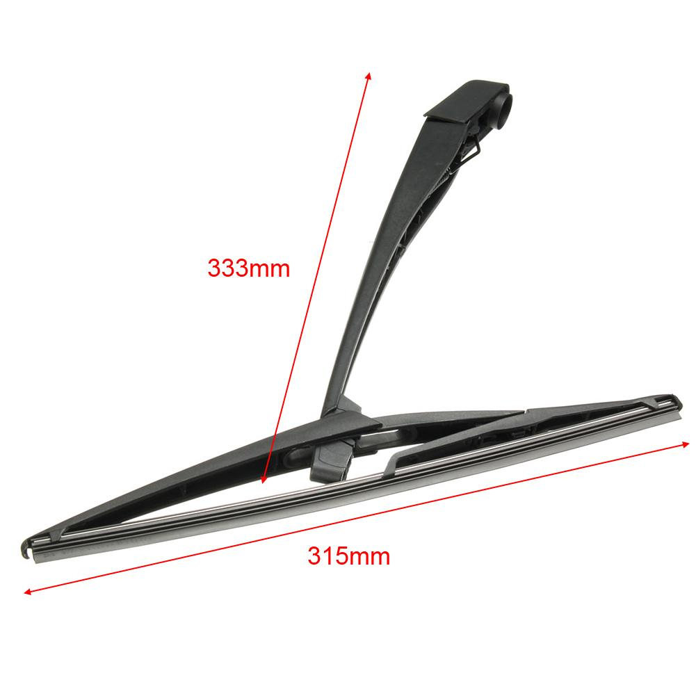 Rear Windscreen Window Windshield Wiper Arm Blade Set Black For Corsa D