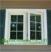 Alüminyum dışa açık pencere üretici/alüminyum kanatlı pencere yatak odası için/Izgara Tasarım Kanatlı Pencere