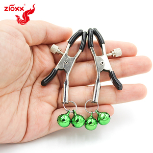 Image 5 - Metal Bell Nipple Clamps With Chain Clips Flirting Teasing Sex Flirt Bondage Kit Slave Bdsm Exotic Accessories dropshipping
