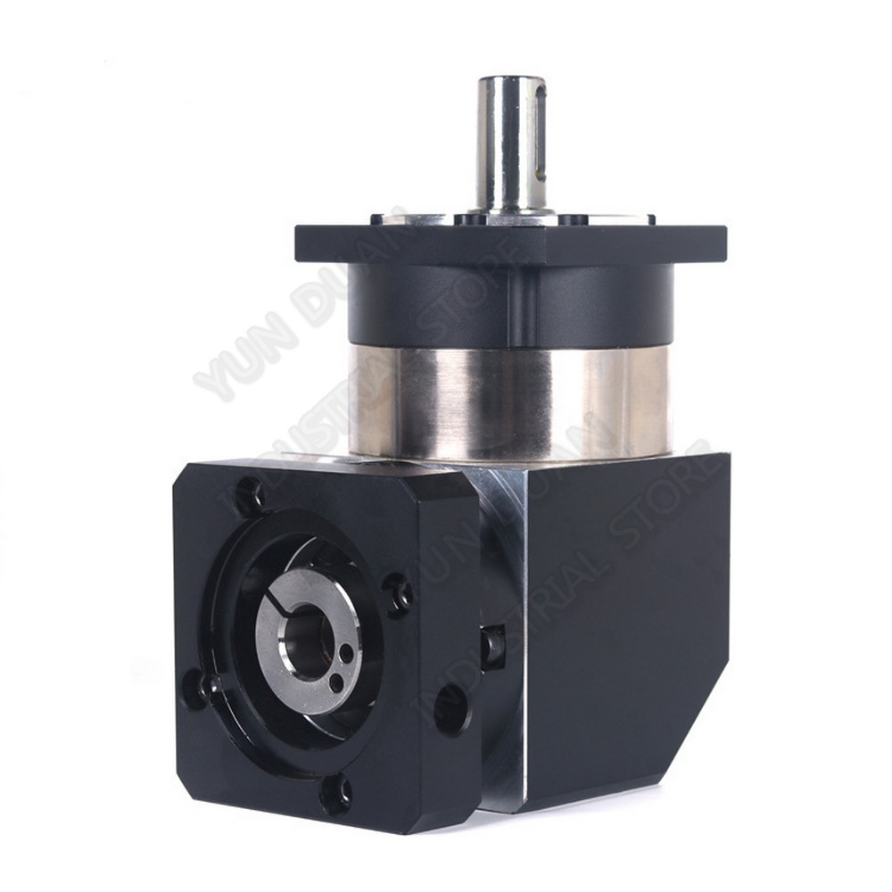 100 :1 Ratio Corner Right Angled Planetary Reducer Gearbox Turn Reversing Speed Reducer for NEMA24 200W 400W 600W Servo Motor-in Speed Reducers from Home Improvement    3