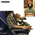 2016 Nuevo Asiento de Coche de Bebé de Seguridad Chaleco de Viaje Avión Tren Portable Kids Tirantes de Seguridad Cinturón de seguridad Arnés Correas Negro Accesorios