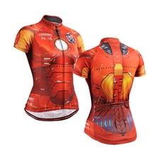 2016 Cool Superhero Cycling Wear Iron Man Batman Superman Captain America Spider-Man Cycling Jersey skulls bike clothing