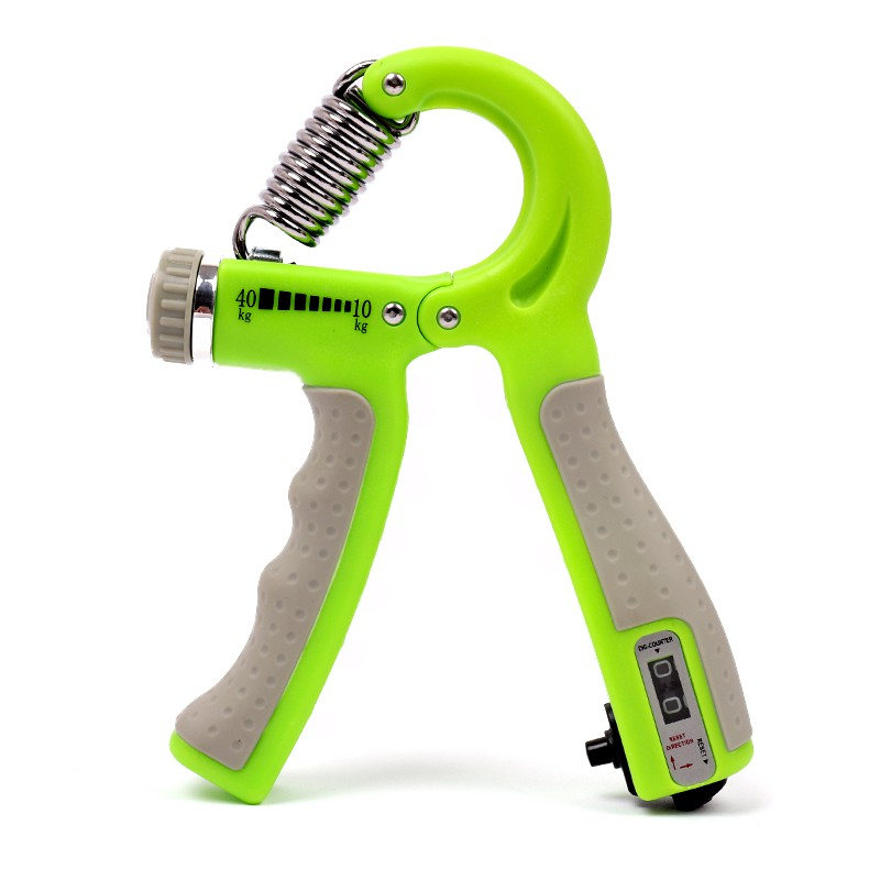 Galleria fotografica Fitness Equipment Accessories Adjustable r-spring intelligent counting gripper Finger rehabilitation training fitness equipment