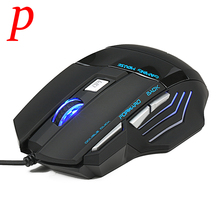 Wired Gaming Mouse 7 Buttons 5500DPI LED High-Precision Optical USB Mouse Mice For PC Laptop Desktop