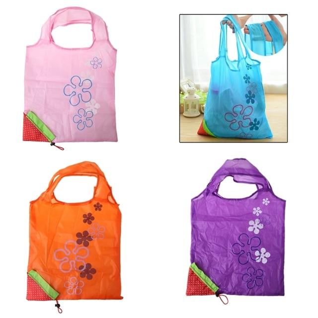 ed519d96b4 THINKTHENDO Cute Foldable Fashion Eco Handbag Reusable Bag Strawberry  Shopping Tote Bags New
