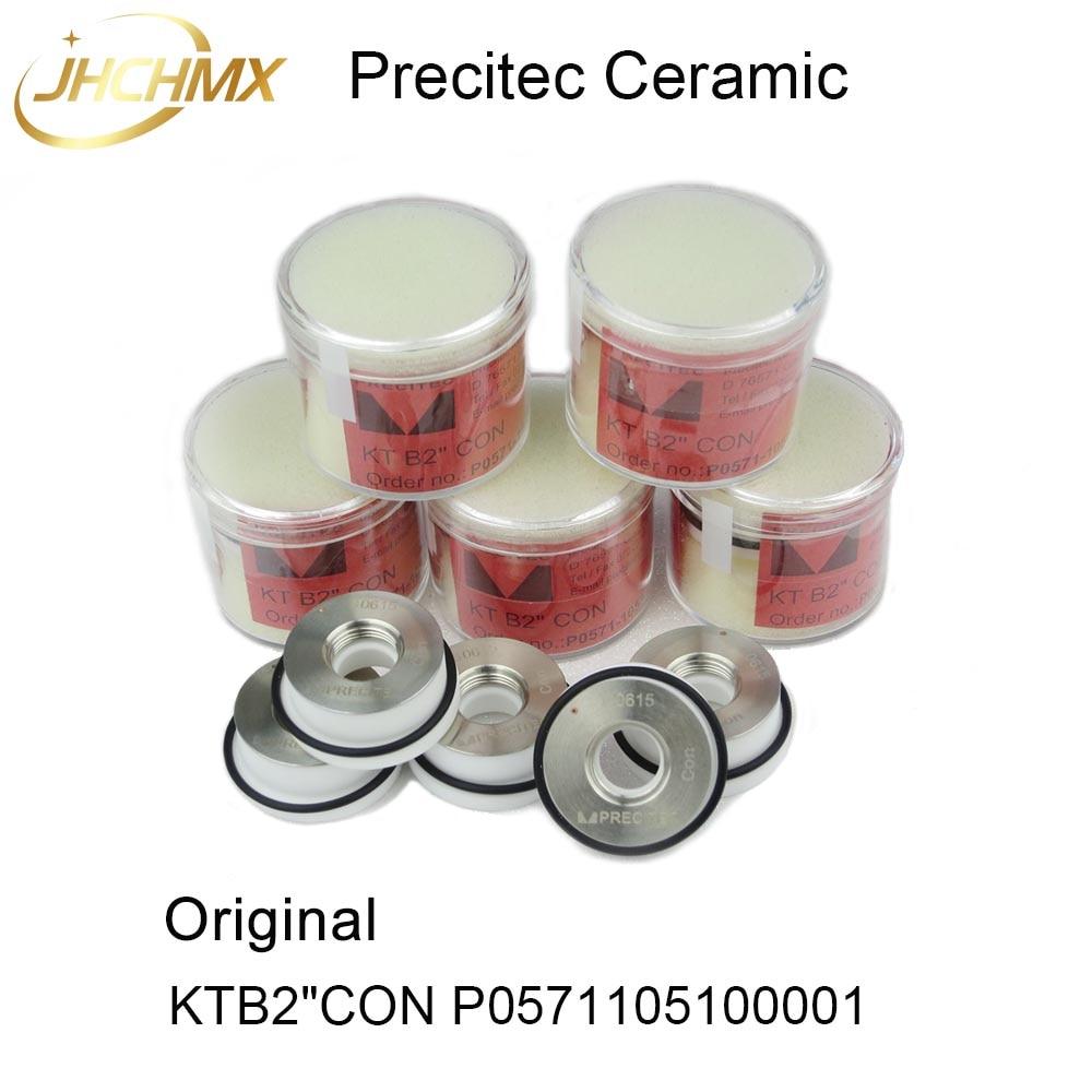 High Quality 5pcs Precitec Ceramic Same Original KTB2 CON P0571 1051 00001 Dia 28mm Nozzle Holder
