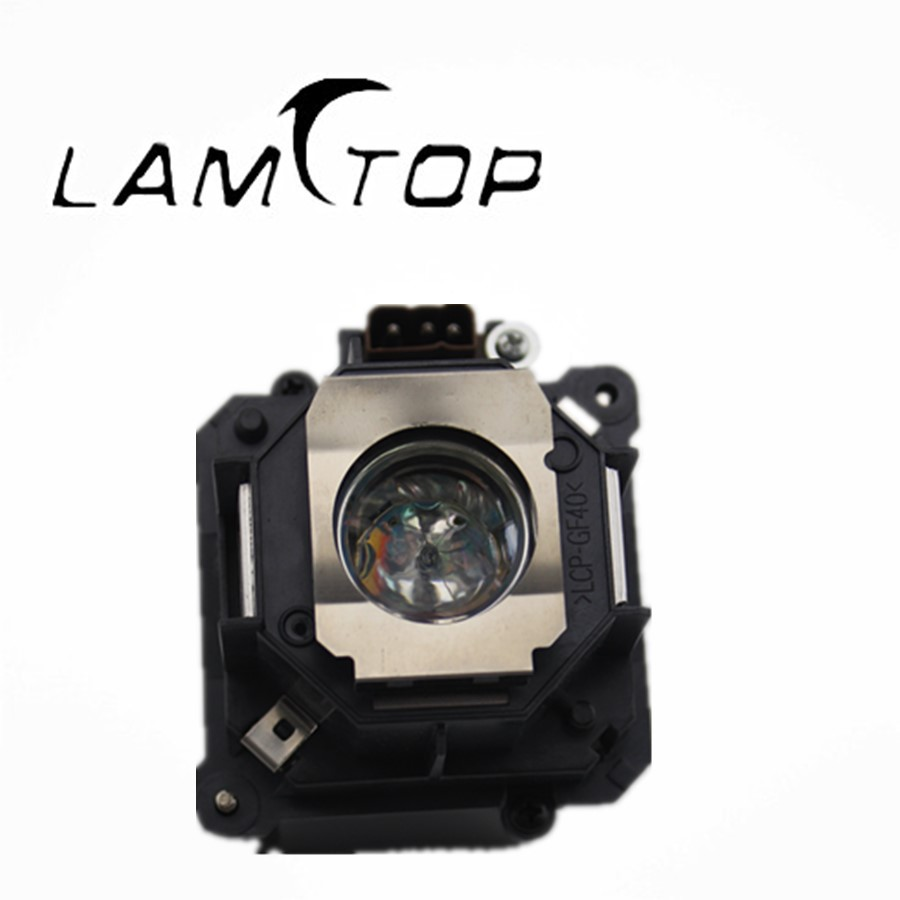 FREE SHIPPING  LAMTOP  180 days warranty  projector lamps with housing  ELPLP46/V13H010L46  for  EB-G5300 slovo g ten days