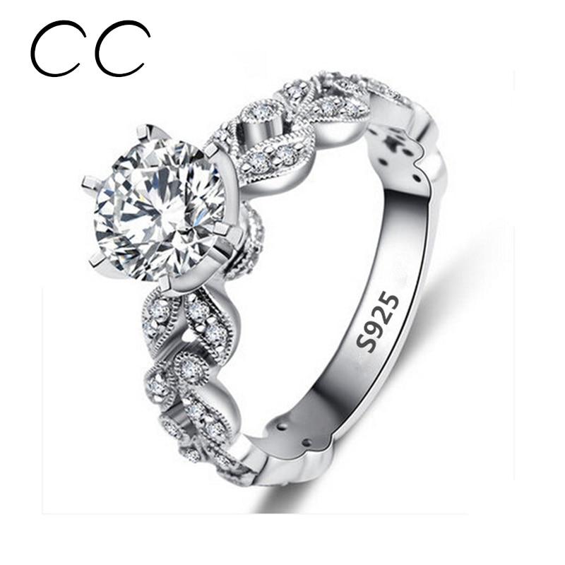 5 Carat Wedding Ring: Aliexpress.com : Buy 1.5 Carat Zirconia Wedding Engagement