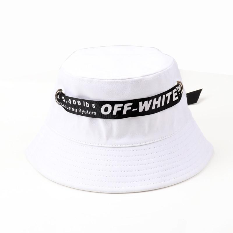 2018 New Summer Ladies Beach Sun Bucket Man Women Cotton Hat Caps Outdoor Fishing Bucket Hats Letter Print Ribbon Lace Cap Sport