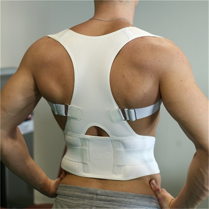 Therapy Posture Corrector Braces Shoulder Back Support Belts for Men Women Braces Supports Belt Shoulder Posture Corrector in Back Support from Sports Entertainment