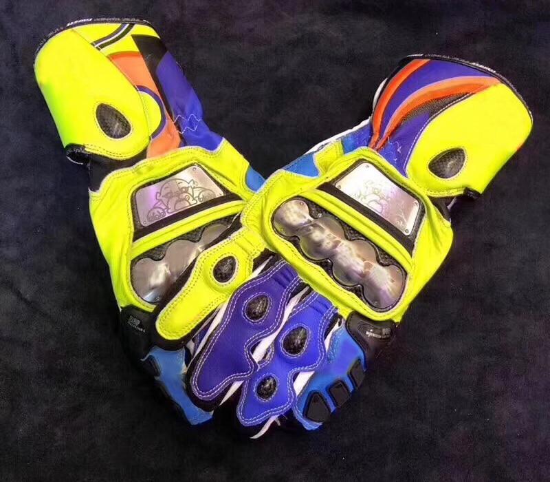 Moto GP Dain gants de Moto en métal complet course 6 réplique gants en cuir véritable