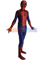 2016 Civil War Spiderman Costume 3D Shade Spandex Cosplay Halloween Costume