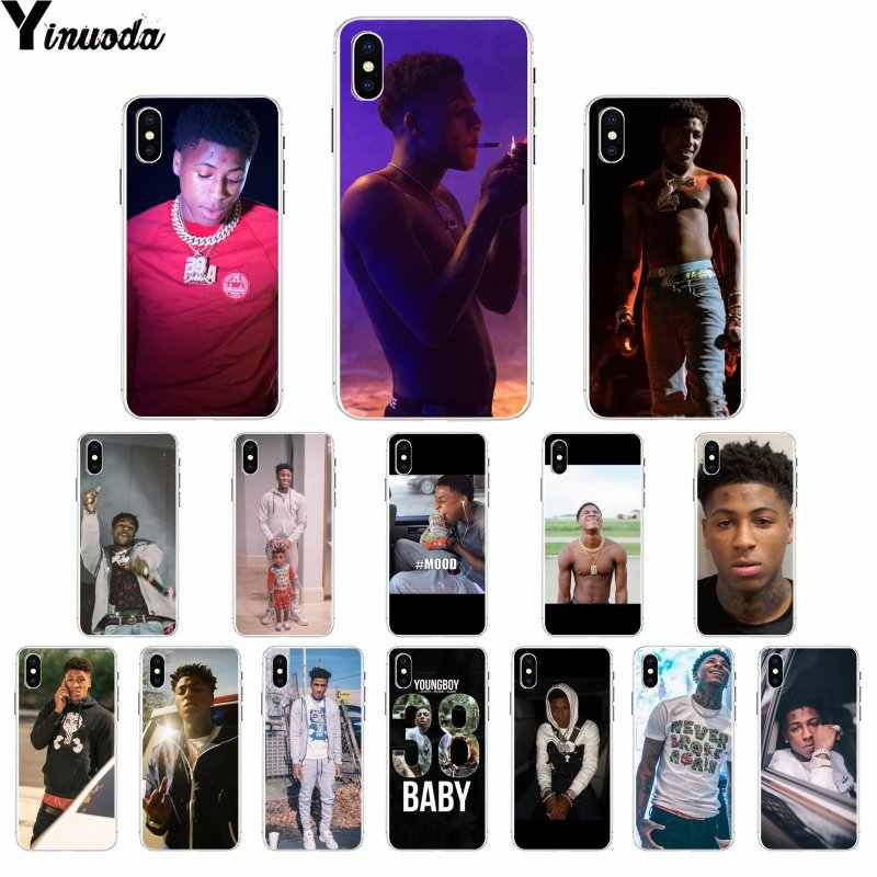 Yinuoda Youngboy Never Broke Again Merch Luxury Unique Design Phone Cover for iPhone X XS MAX 6 6S 7 7plus 8 8Plus 5 5S XR