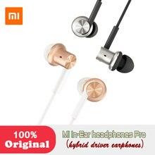 Xiaomi Hybrid Dual Drivers Original MI In-Ear Earphones Pro dynamic balanced armature Optimized sound quality Circle Iron