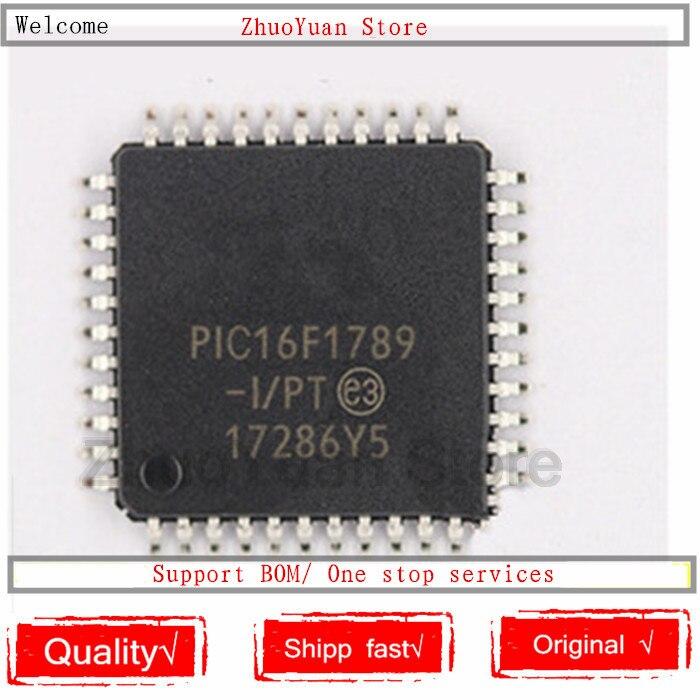 1PCS/lot PIC16F1789-I/PT PIC16F1789 16F1789 TQFP44 New Original IC Chip PIC16F1789-I