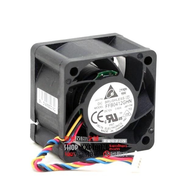FFB0412GHN 4028 12 V 0.6A 4 CM PWM de grande volume de ar do ventilador de refrigeração