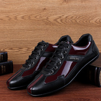 Luxury Brand Fashion Genuine Leather Men Shoes 2018 New Leather Men Casual Shoes High Quality Plus Size 36-48 Flat Shoes For Men 3