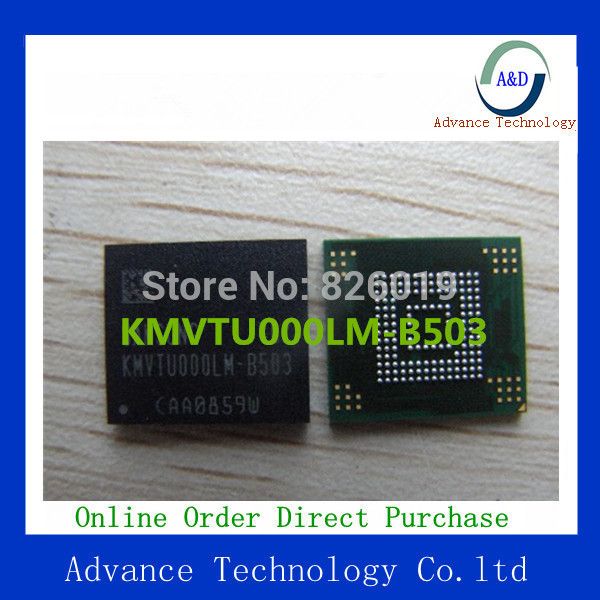 (With  firmware/Programmed)Free shipping best price for s3 I9300 KMVTU000LM-B503 KMV3W000LM-B310 eMMC flash memory IC KMVTU000LM