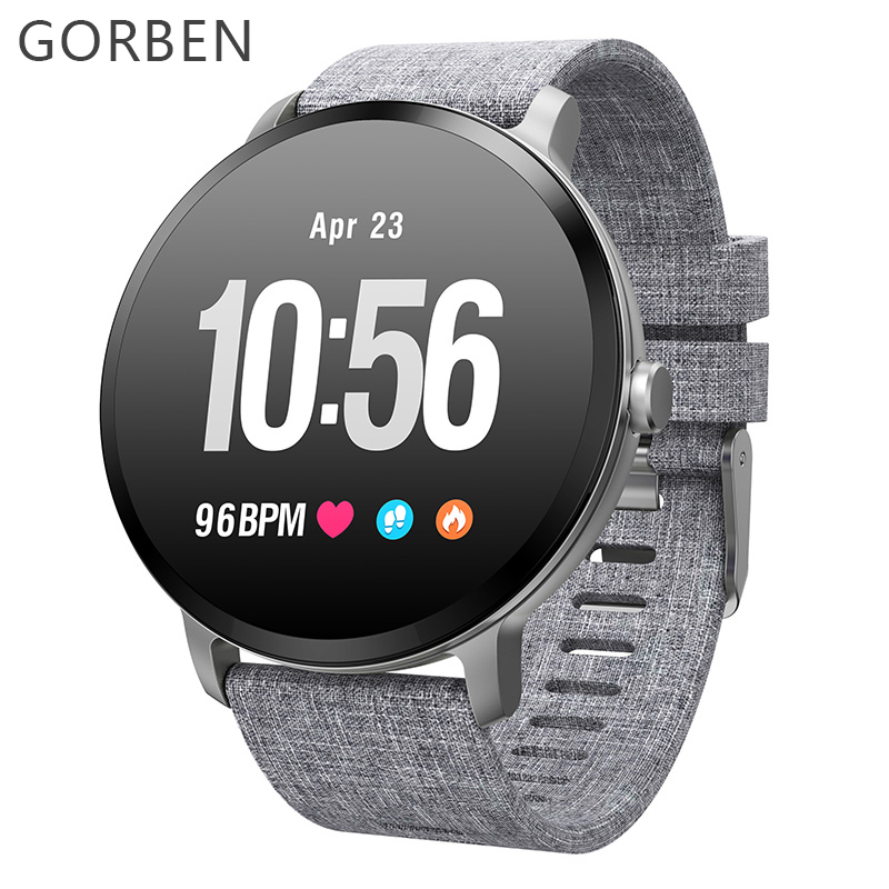 Smart watch Men V11 Waterproof IP67 Tempered glass Activity Fitness tracker Heart rate monitor BRIM Fashion Men women smartwatch colmi v11 smart watch ip67 waterproof tempered glass activity fitness tracker heart rate monitor brim men women smartwatch