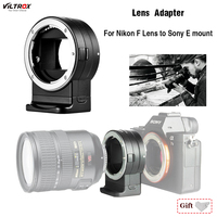 Lens Adapter Viltrox NF E1 Auto Focus for Nikon F Mount Series Lens for Sony E Mount A7II A7RIII A7SII A6500 For Nikon Sony Lens