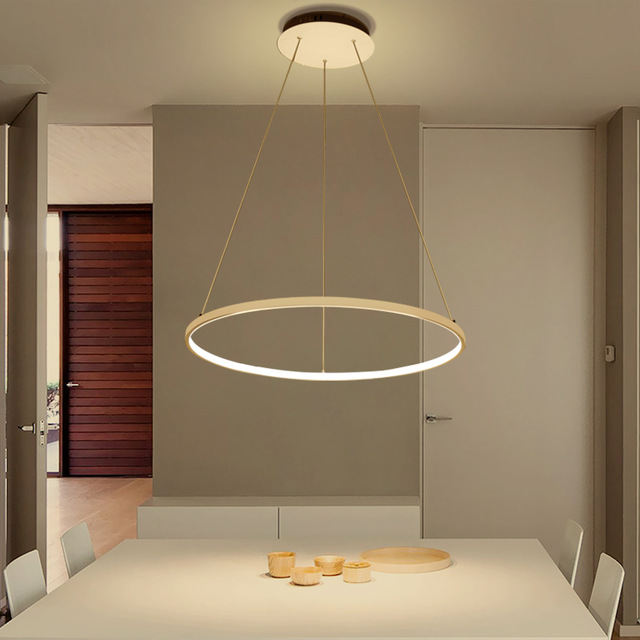 moderne Circle Pendant lamps lights Chandelier Lighting For Dining Kitchen living Room Rings Aluminum led Hanging light fixturesmoderne Circle Pendant lamps lights Chandelier Lighting For Dining Kitchen living Room Rings Aluminum led Hanging light fixtures