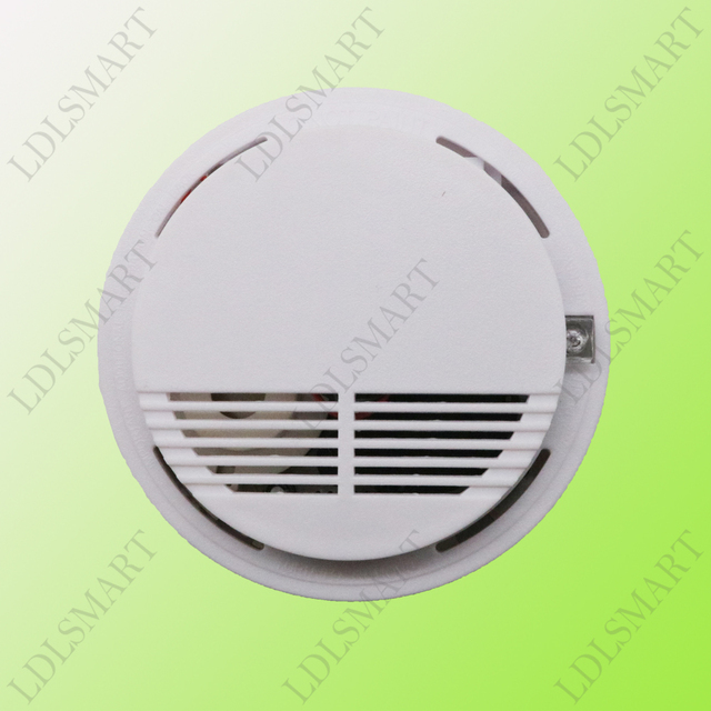 Wireless Smoke Fire Detector Sensor 433MHz for Our Alarm System