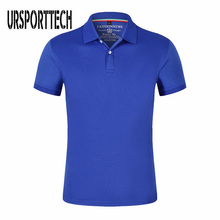 URSPORTTECH Brand New Men Polo Shirt High Quality Short Sleeve Jerseys Summer Mens Shirts Plus Size 4XL