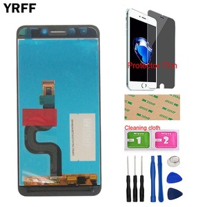 Image 3 - Mobile LCD Display Assembly Screen LCD Matrix Screen Display For LEAGOO T8S T8 S LCD Display + Touch Screen Tools Protector Film