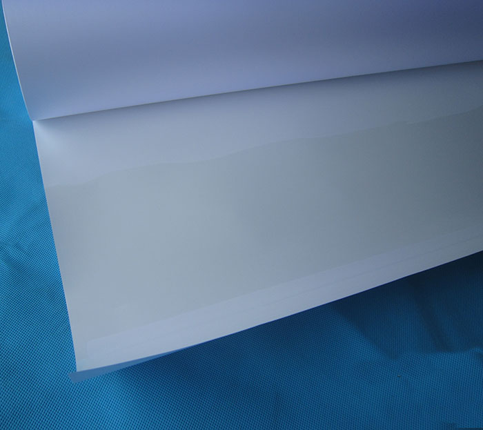 US $89 0 |24in*30m Slef adhesive matte coated paper ink jet print 90g/130g  thin inkjet paper roll-in Photo Paper from Computer & Office on