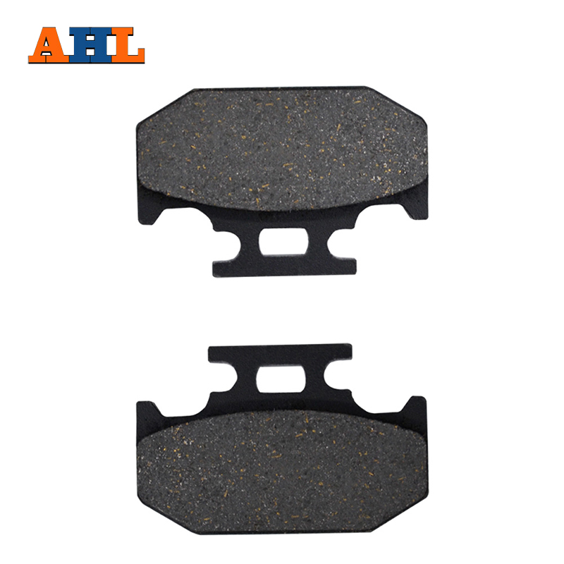 AHL Motorcycle Parts Rear Brake Pads Disks For SUZUKI TS 125 200 RM 125/250 DR 250 350 650 RMX 250 front rear brake pads for suzuki rm 125 250 rm125 rm250 dr z 400 drz400 dr 650 kawasaki kx125 kx250 for honda xr400 xr400r xr440