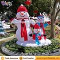 Kostenlose lieferung 3 meter Aufblasbare schneemann familie für weihnachtsfeier dekoration blow up schneemann mitglieder ballon für garten spielzeug-in Aufblasbare Hüpfburg aus Spielzeug und Hobbys bei