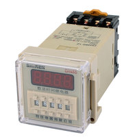 Dh48s 1Z 8 Terminals Spst 0 01S 9999H Lcd Display Time Timer Delay Relay Ac 380V